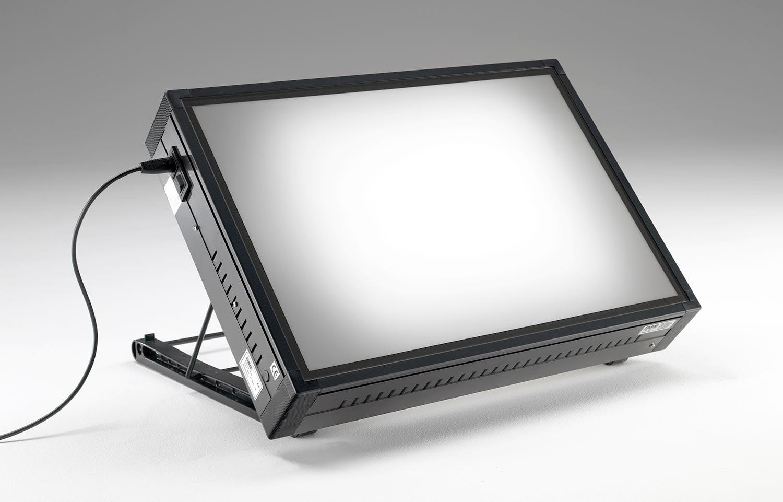 Tavoli luminosi da disegno con piano luminoso grapholux for Mesa de dibujo con luz