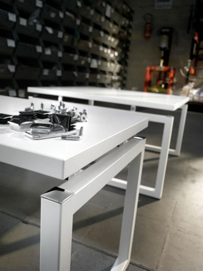 Emme Italia produces technical metal furniture