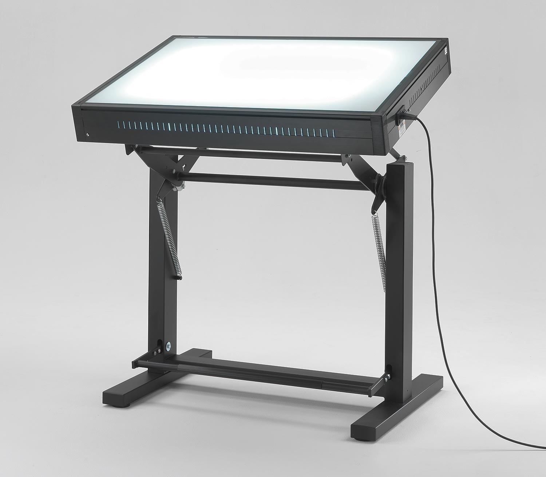 Tavoli luminosi da disegno con piano luminoso grapholux emme italia - Tavolo luminoso per disegno ...