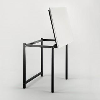 Adjustable school drafting table