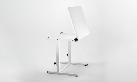 Adjustable school drawing table
