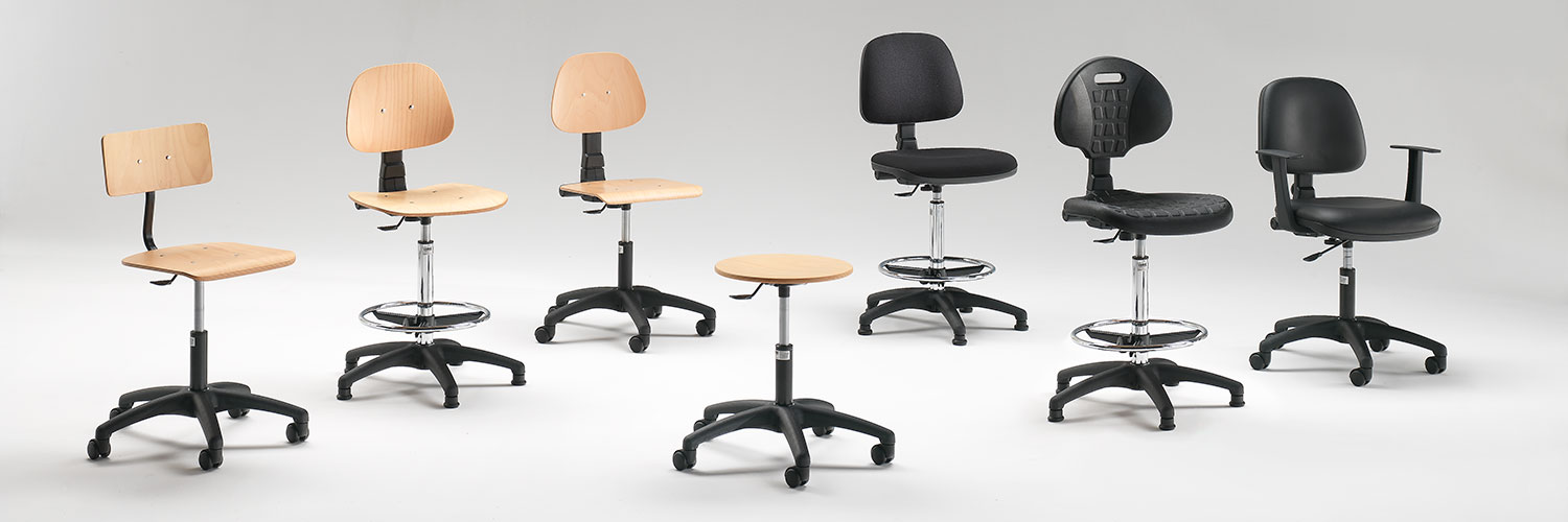 Laboratory chairs and stools
