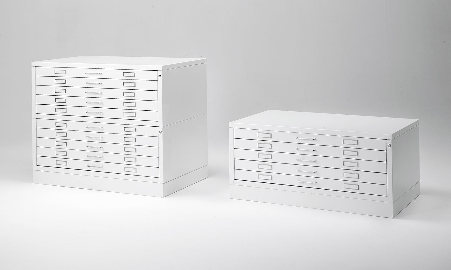Plan file cabinets for blueprint, large format documents ...