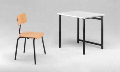 School desk for classrooms