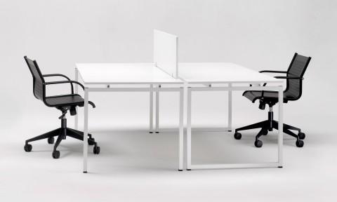 Soluzioni di arredo ufficio, scrivanie in metallo