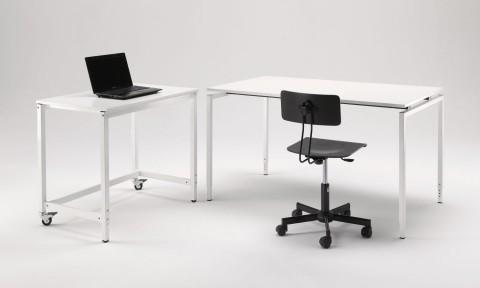 Soluzioni di arredo ufficio tecnico, bancone e scrivania regolabili