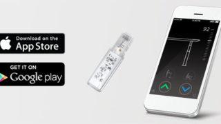 app desk control smartphone scrivania regolabile