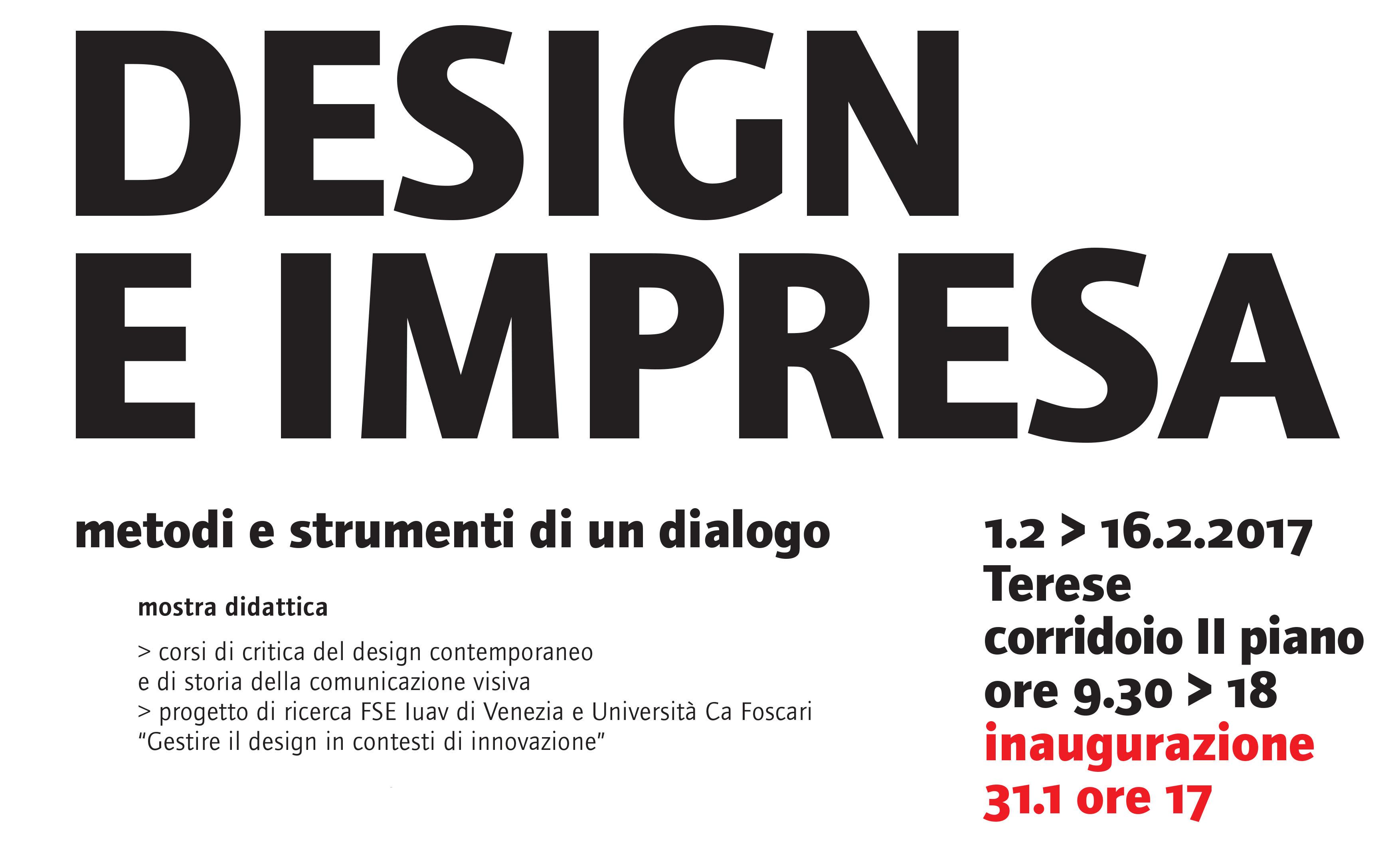 design e impresa