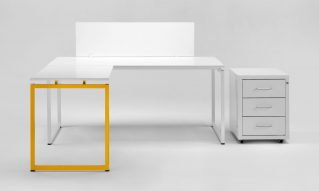 Angular office desk