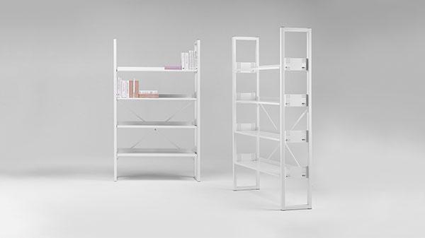 Librerie armadi e mobili contenitori in metallo per ufficio