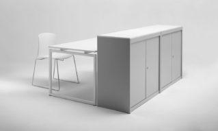 Bancone reception da ufficio di design