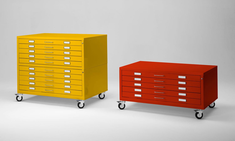 cassettiere metalliche archivio e cassettiere espositive