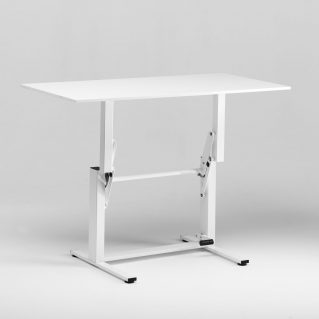 Ergonomic sit stand desk