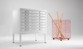 Metal flat files cabinet design