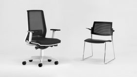 Office furniture Italy, ergonomic office chairs