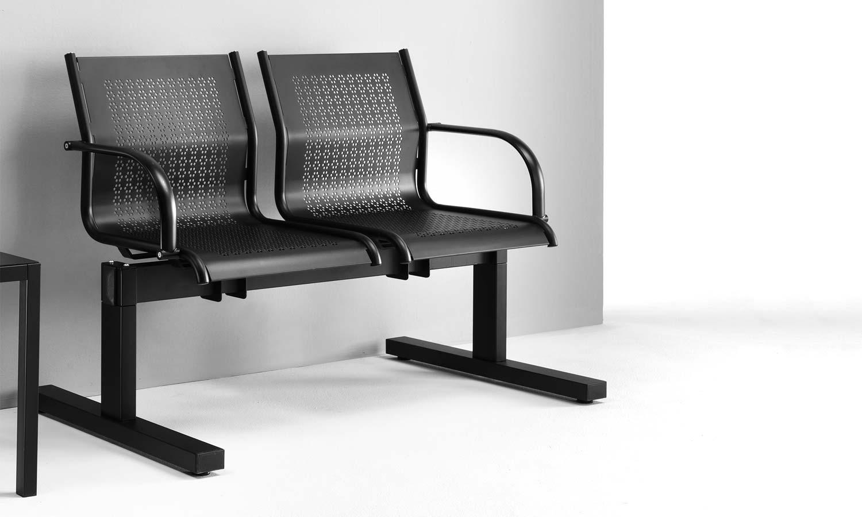 Sedie ufficio ergonomiche sedute collettività panche attesa