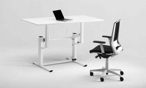 Postazione di lavoro in piedi, scrivania regolabile