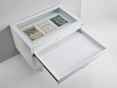 Cassettiera espositiva museale