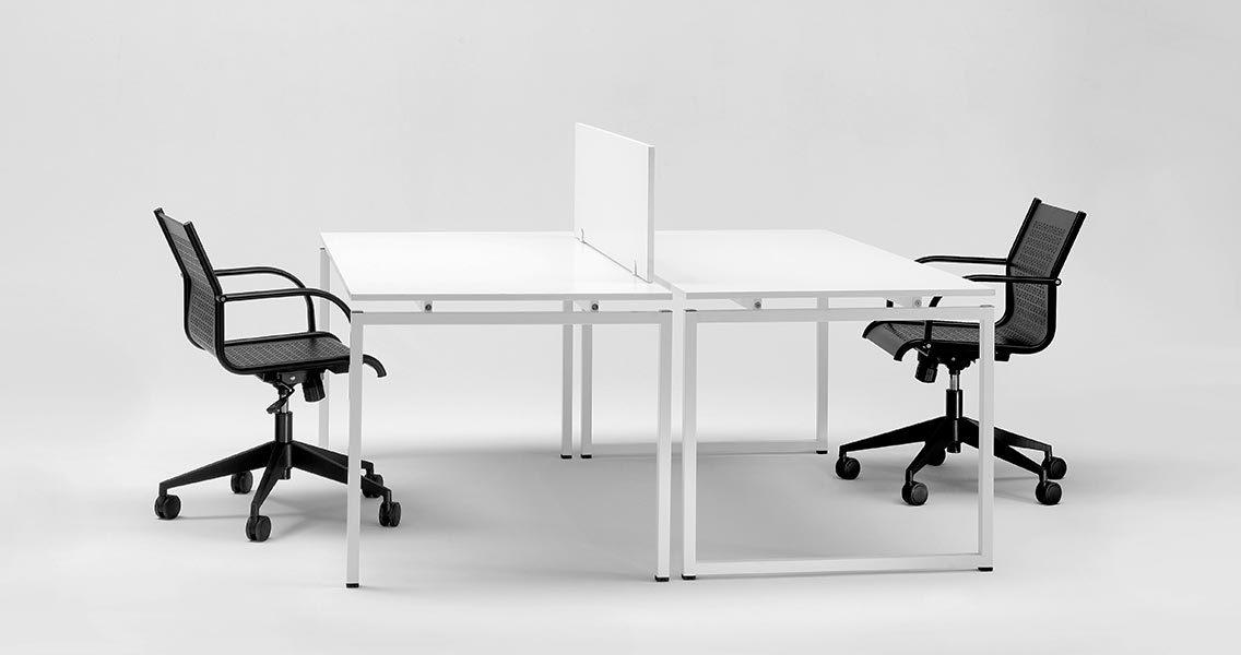 Metal furniture for office - Office desks Emme Italia