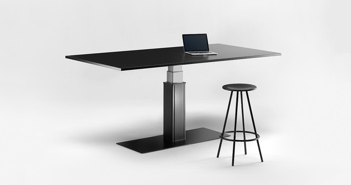 Metal furniture for office - Standing desks Emme Italia