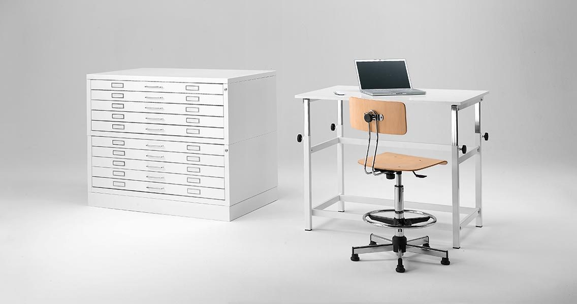 Technical furniture - Drafting table Emme Italia