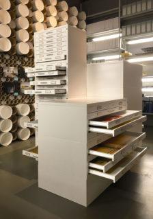 Cassettiere metalliche Draftech alla Triennale di Milano