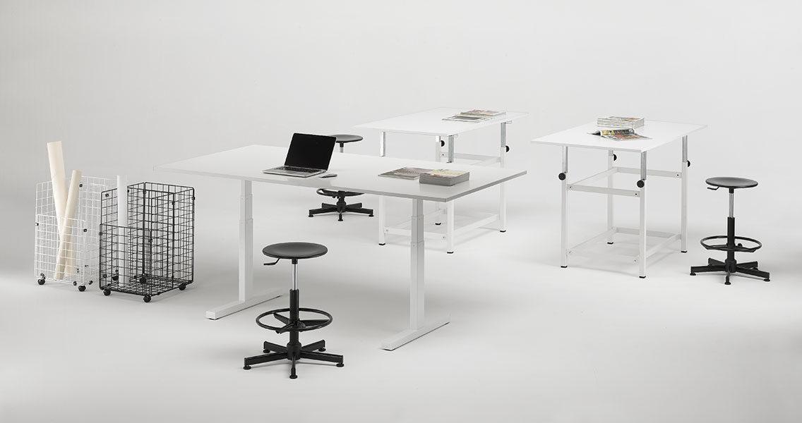 Mobili metallici per l'arredo ufficio moderno