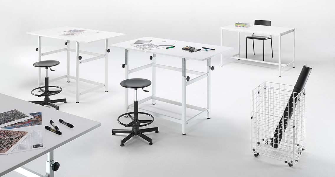 Mobili metallici per la scuola e arredo tecnico laboratorio