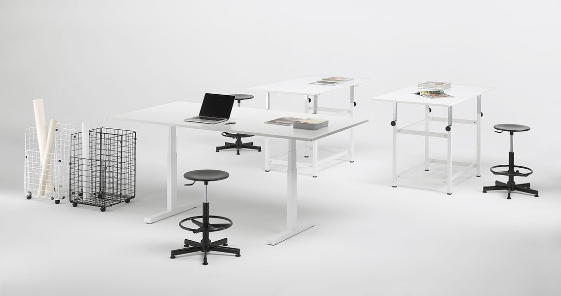Mobili metallici per ufficio e arredamento studio tecnico