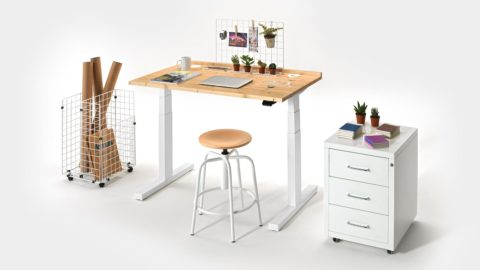Scrivania regolabile My Personal Desk alla Milano Design Week 2019
